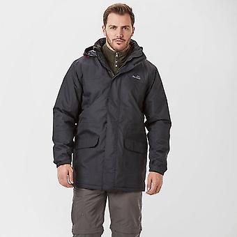 Peter Storm heren wind Storm geïsoleerde jas zwart