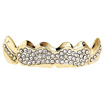 Één grootte past al bling Grillz - SHINING TOP - goud