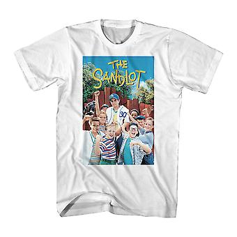 Sandlot Color Poster Men's White T-shirt