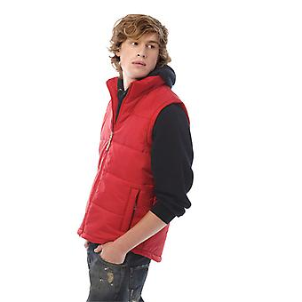 B&C Mens Trendy down waterproof bodywarmer with full zip