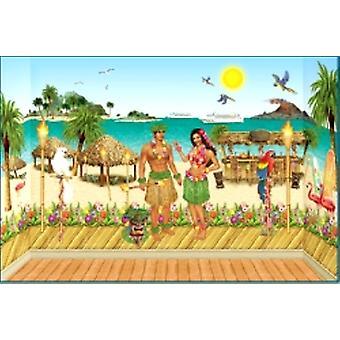 Luau - Hawaiian instantanée chambre thème défini (61 articles)