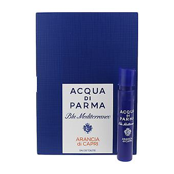 Acqua Di Parma 'Blu Mediterraneo Arancia Di Capri' EDT 0.05oz/1.2ml Vial On Card