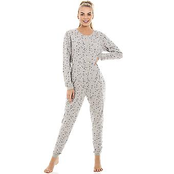 Camille Womens Grey Star Print All In One