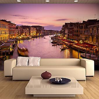 Fototapet - City of kærester, Venedig by night