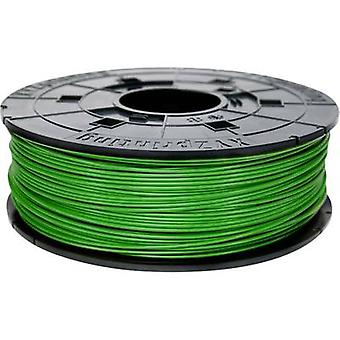 Filamento XYZprinting PLA 1,75 mm verde Neon (fluorescente) 600 g Junior