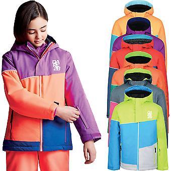 Dare 2b chłopców & dziewczyny debiut wodoodporny Wytrzymałe narty płaszcz