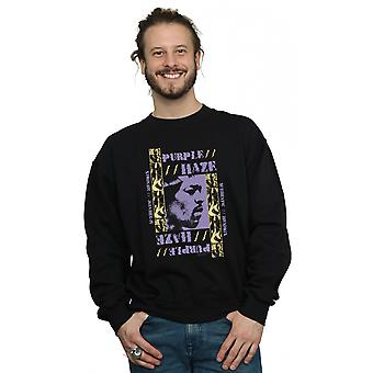 Jimi Hendrix Men's Purple Haze Sweatshirt