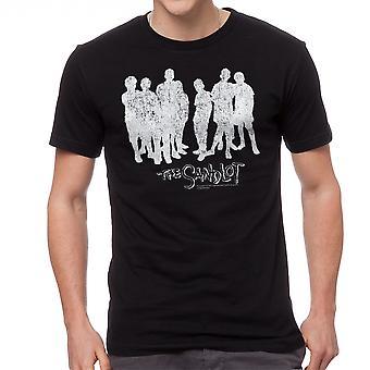 The Sandlot Cast Men's Black T-shirt