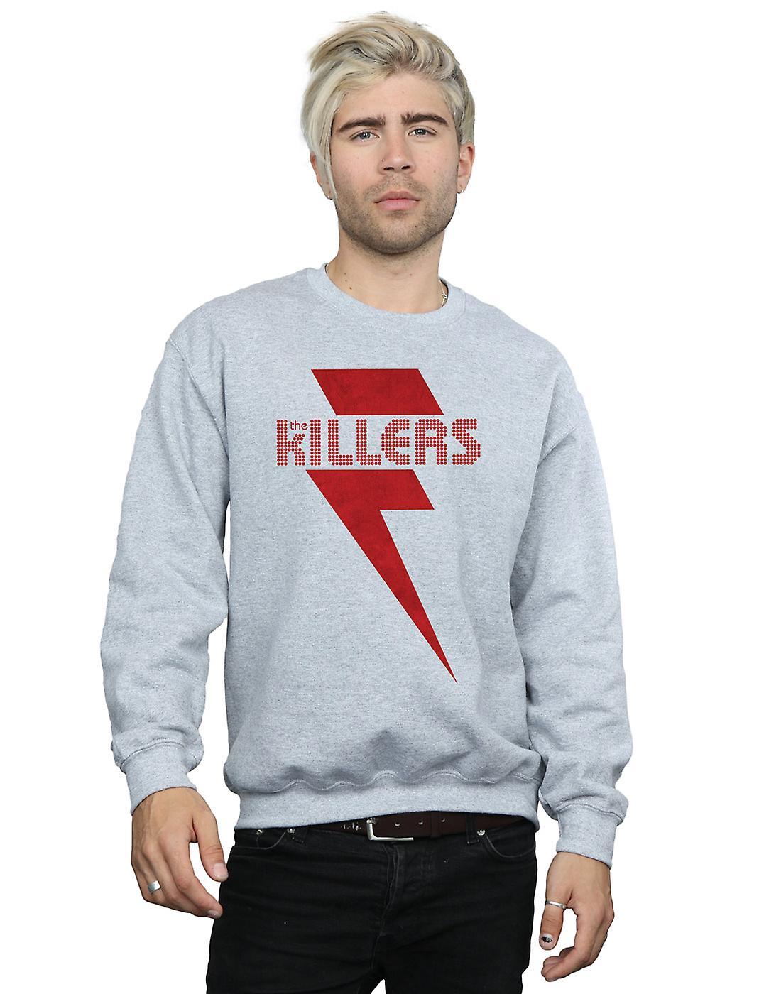 The Killers Men's Red Bolt Sweatshirt