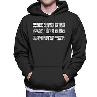 TV gånger Beatles Lennon McCartney foto Reel Mäns Hooded Sweatshirt