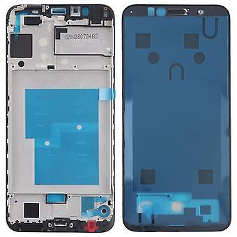 Carcaça capa do quadro central de estrutura compatível para Huawei Y6 2018 preto novo