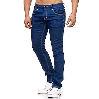 Mens Stretch Jeans Pants Designer JoggJogging Denim Denim Clubwear Chino Slim Fit