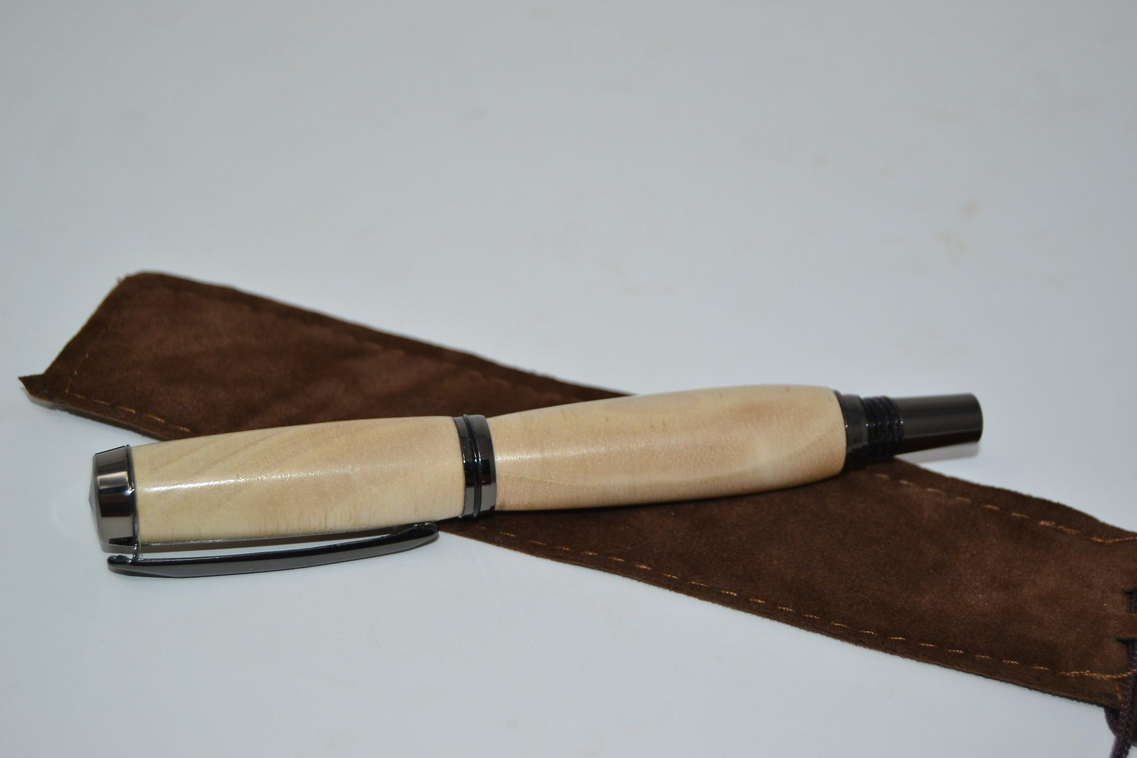 Wood Ballpoint Rollerpen wooden pen walnut walnut handmade ballpoint pen gift gift idea unique