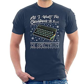 All I Want For Christmas Is A ZX Spectrum Men's T-Shirt