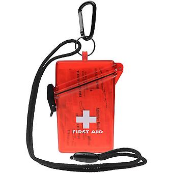 Witz Lightweight Waterproof First Aid Kit with Lanyard and Carabiner