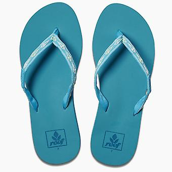 Reef Womens Sandals ~ Ginger tropical aqua