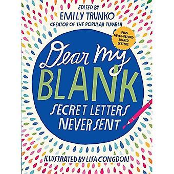 Dear My Blank: Secret Letters Never Sent