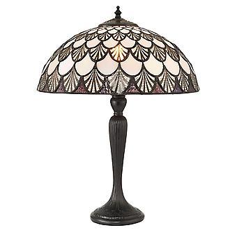 Missori Medium Tiffany stil bordlampe - interiør 1900 71091