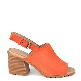 Sorel Nadia Orange Slingback Sandal