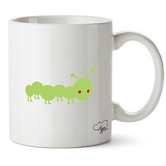Hippowarehouse Caterpillar mignon Image imprimée tasse tasse en céramique 10oz