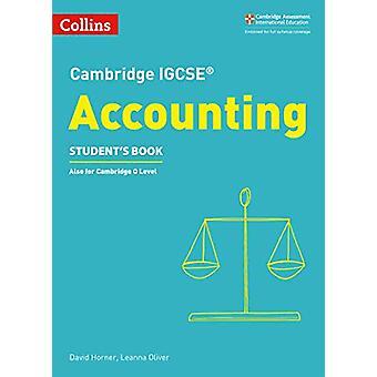 كتاب كامبريدج IGCSE (R) المحاسبة الطالب (كامبردج إنترناشيونال