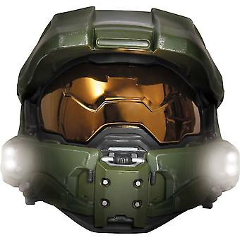 Master Chief ljus upp barn Mask