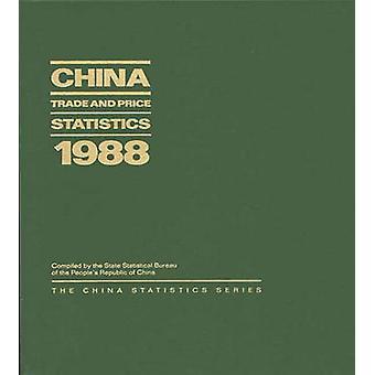 Cina commercio e statistiche sui prezzi 1988 da ufficio statistico statale dei popoli