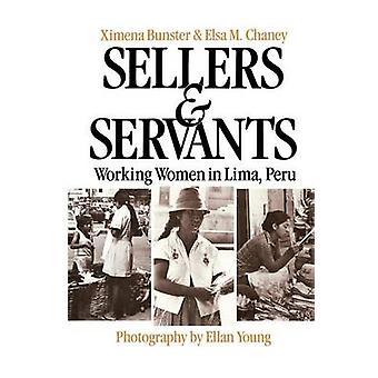 Sælgere og ansatte kvinder i Lima Peru ved Bunster & Ximena