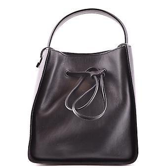 3.1 Phillip Lim Ezbc020001 Women's Black Leather Handbag