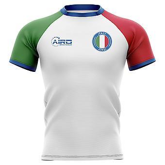 2020-2021 イタリアフラッグコンセプトラグビーシャツ
