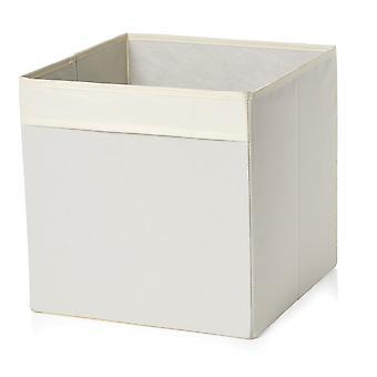 Country Club Fabric Storage Box, Cream