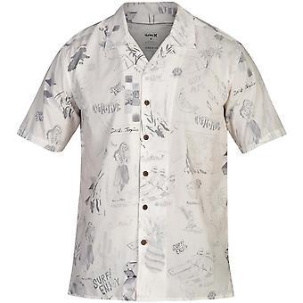 Hurley Doom Kortärmad skjorta i Summit White