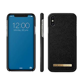 iDeal Of Sweden iPhone X/XS Saffiano Shell-Black