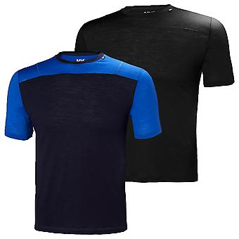 Helly Hansen Mens HH Merino Light SS Baselayer