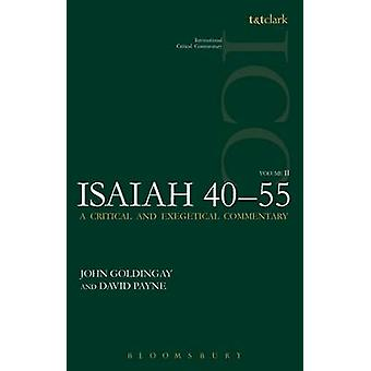 Isaiah 40-55 (ICC) - A Critical and Exegetical Commentary - Volume 2 by