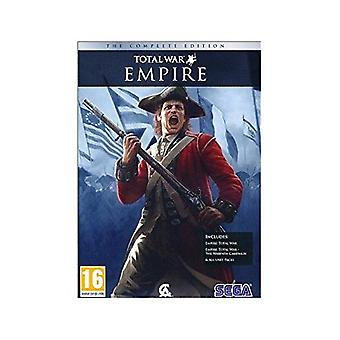 Empire Total War complet Edition PC DVD jeu