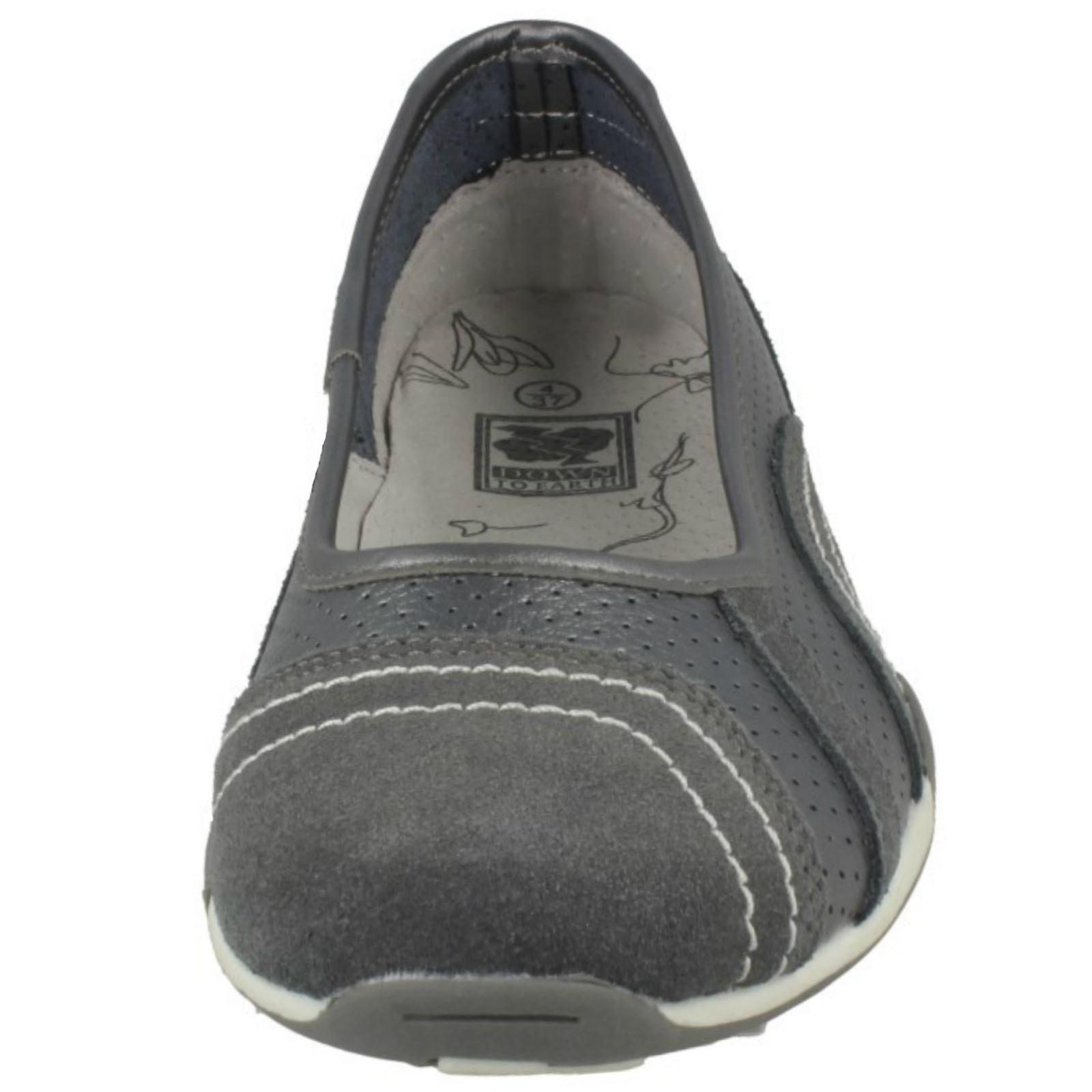 Panie Przy Ziemi Płaskie Baleriny Buty F8991