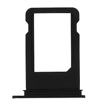 Nano-SIM card tray replacement part for Apple iPhone 7 - Black