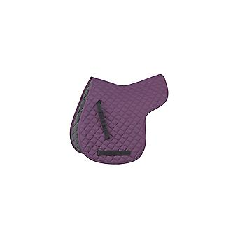 Shires Quilted General Purpose Numnah - Purple