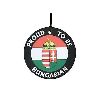 Proud To Be Hungarian Car Air Freshener