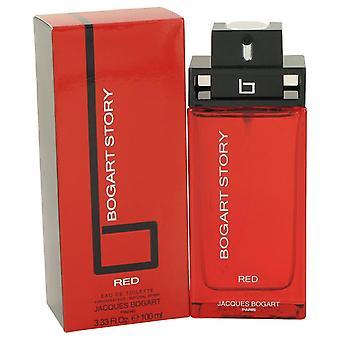 Bogart story red eau de toilette spray by jacques bogart 497979 100 ml