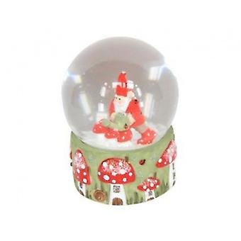 Gisela Graham Woodland Gnome Snow Dome
