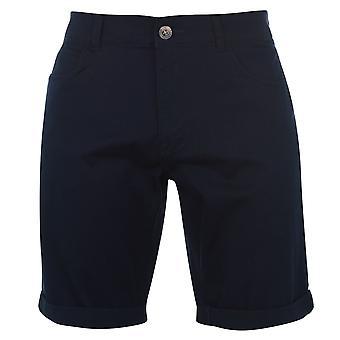 Lambretta Mens casual Chino Shorts calças Bottoms