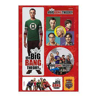 The Big Bang Theory Magnet Set A