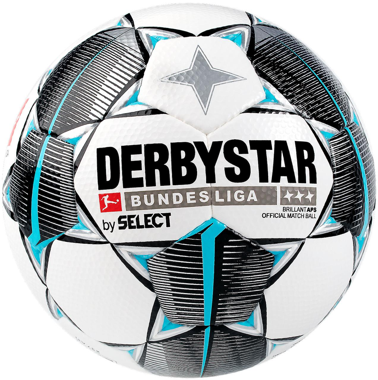 5 x DERBYSTAR Game Ball - BUNDESLIGA BRILLANT APS 19/20 incl. ball hose