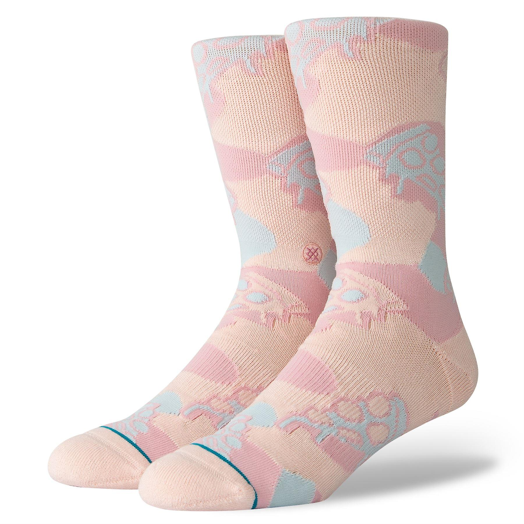 Stance Lifestyle Mens Socks ~ Pizza Party (size L)