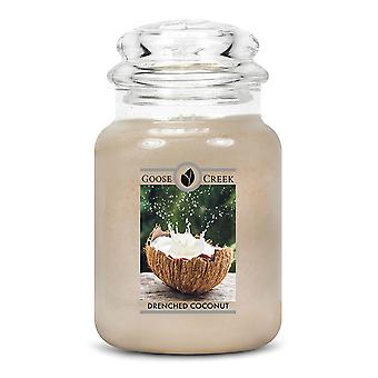 Goose Creek 24oz Large Scented 2 Wick Candle Jar