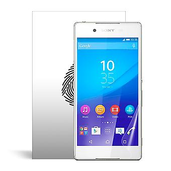 Celicious Vivid Plus Mild Anti-Glare Screen Protector Film Compatible with Sony Xperia Z3+ [Pack of 2]