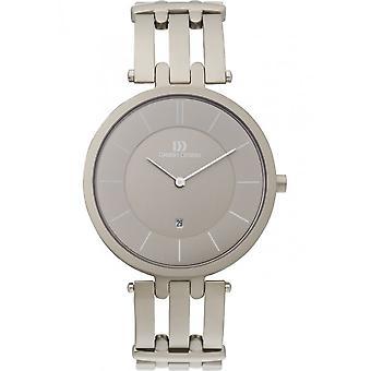 Diseño danés - Reloj de pulsera - Hombres - IQ63Q585 TITANIUM SAPPHIRE