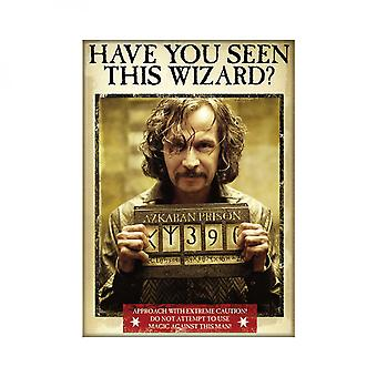 Harry Potter Sirius Wanted Poster Magnet